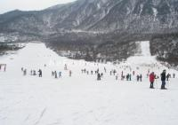 The Ski Resort in Xiling Snow Mountain