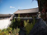 A Folk House Courtyard in Dali Xizhou Town