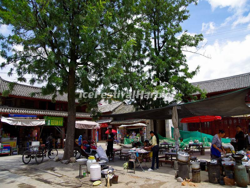The Market in Xizhou Old Town, Dali