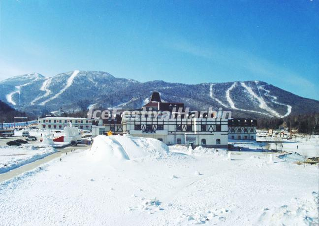 yabuli ski resort in china