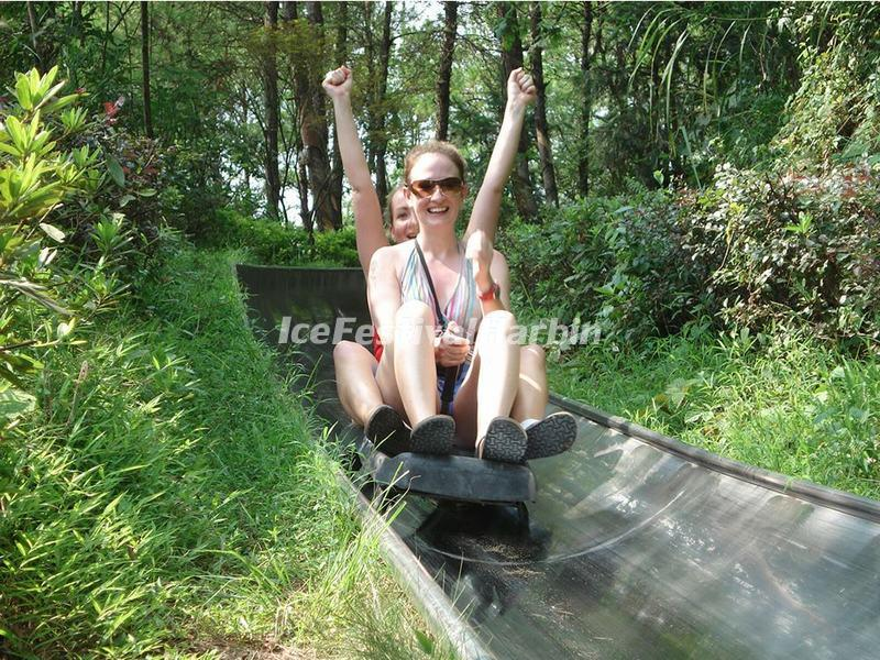 Alpine Slide in Guilin Yao Mountain