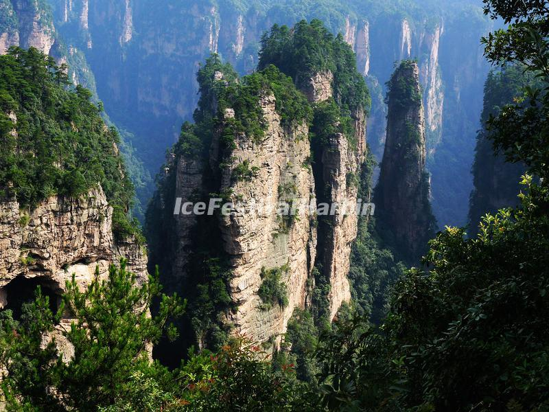 The Yellow Stone Village in Zhangjiajie National Forest Park