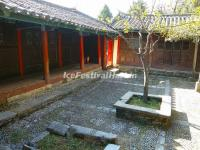 The Courtyard of Lijiang Yufeng Lamasery