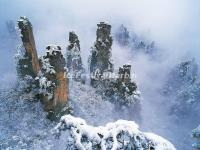 Zhangjiajie National Forest Park Snow