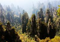 Zhangjiajie National Forest Park in Summer