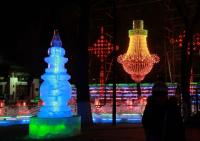 Ice Lanterns in Harbin