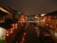 Zhouzhuang Water Town at Night