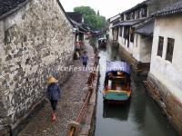 Zhouzhuang Water Town in Rain