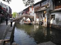 A Small Bridge in Zhouzhuang