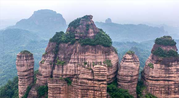 5-day Guangzhou Shaoguan Danxia Mountain Tour