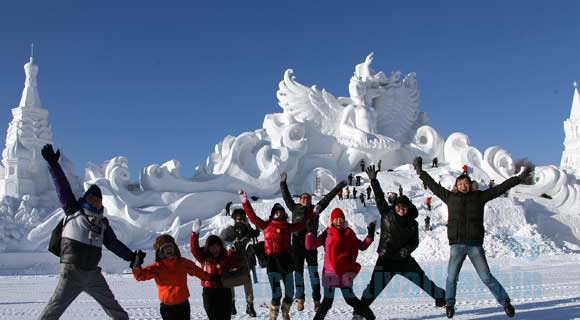 4-day Harbin Ice and Snow World Tour