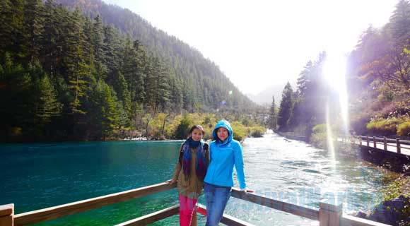 5-day Chengdu Jiuzhaigou Valley Winter Tour