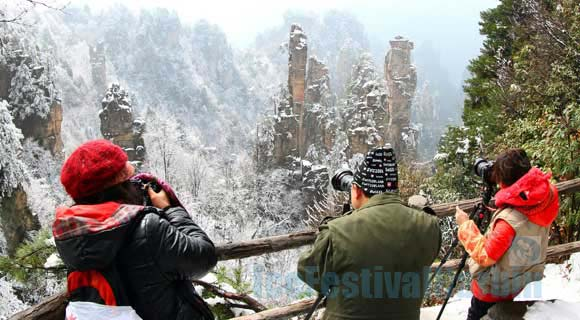 4-day Enchanting Zhangjiaie National Forest Park Winter Tour